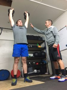 personal training session